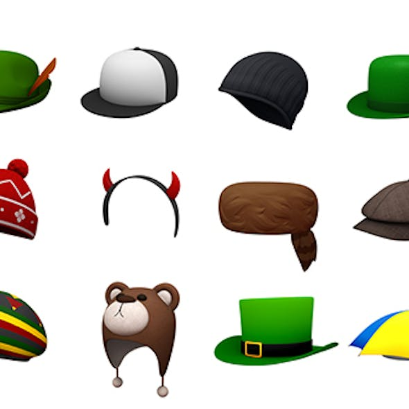 Hats and Helmet Pack 5