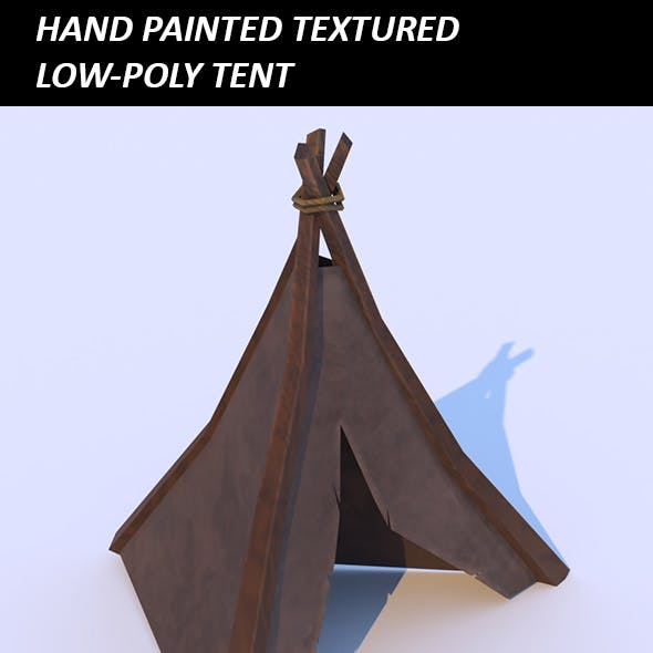 Low-Poly Tent