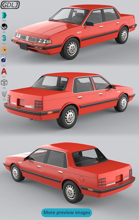 Oldsmobile Cutlass Ciera 1990 - 3DOcean Item for Sale
