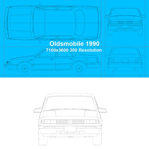 Oldsmobile 1990 Blueprints