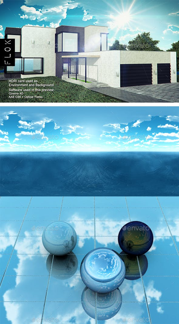 Daylight Sea 42 - 3DOcean Item for Sale