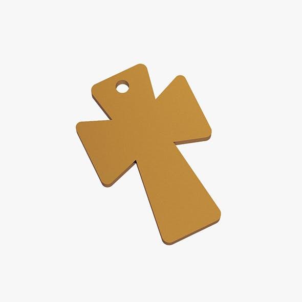 Cross pendant - 3DOcean Item for Sale