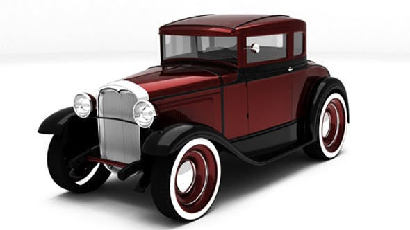 Ford A model 1930 - 3DOcean Item for Sale