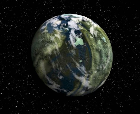 Planet Zenith - 3DOcean Item for Sale