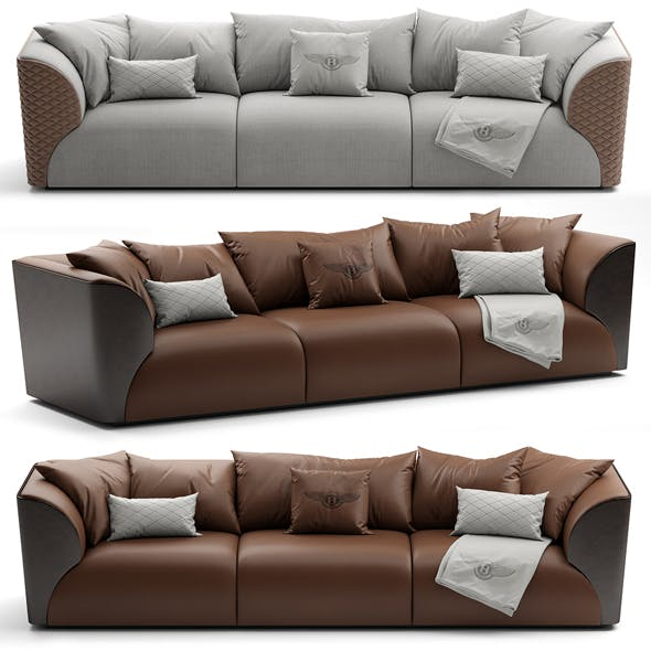 3D Model Bentley Home Winston Sofa