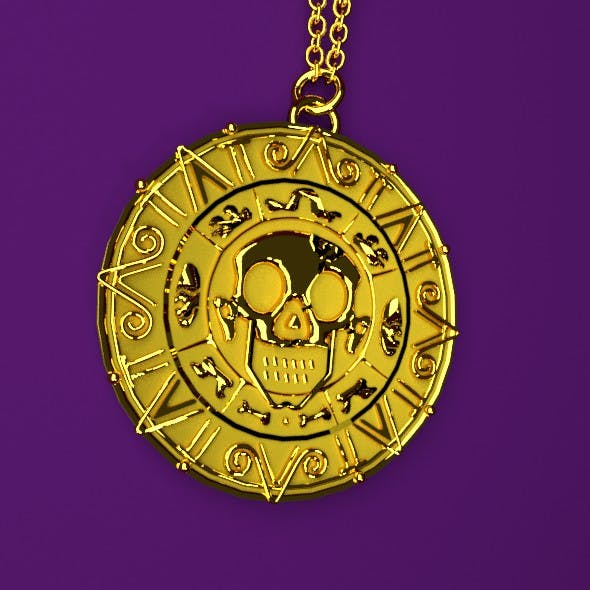 Medallion.High polygons