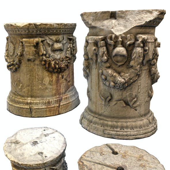 Roman Greek Column Base
