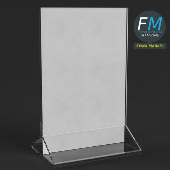 Table tent template 4