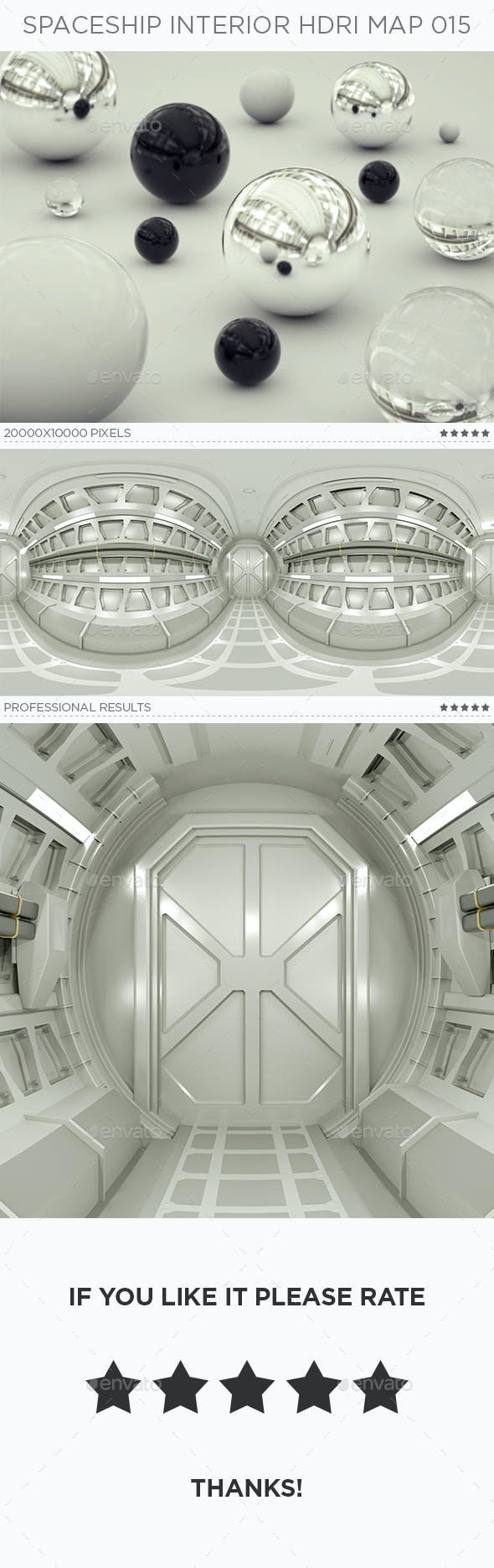 Spaceship Interior HDRi Map 015 - 3DOcean Item for Sale