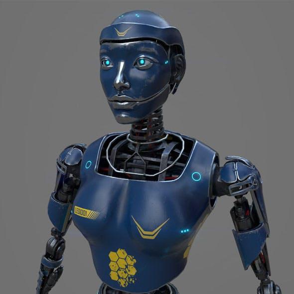 Robot LEDI001 by AlekRazum
