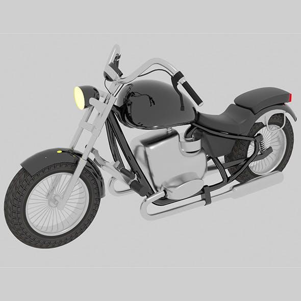 3D  motobike cruiser - 3DOcean Item for Sale