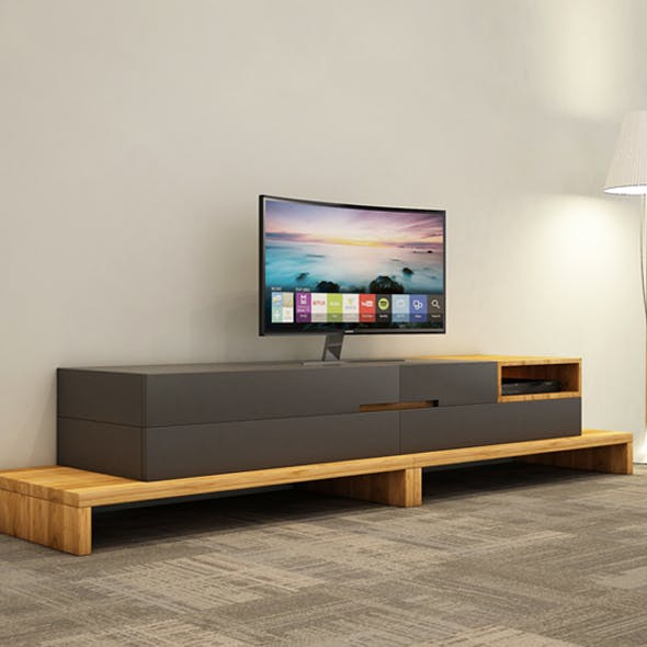 TV CABINET-TV Unit - 3DOcean Item for Sale