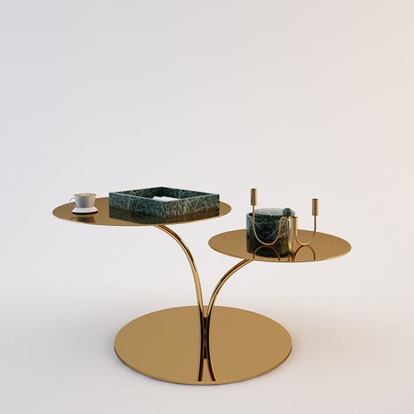 Hnm Coffee Table Set - 3DOcean Item for Sale