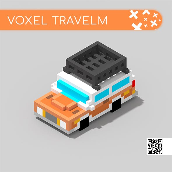Voxel Car TravelM