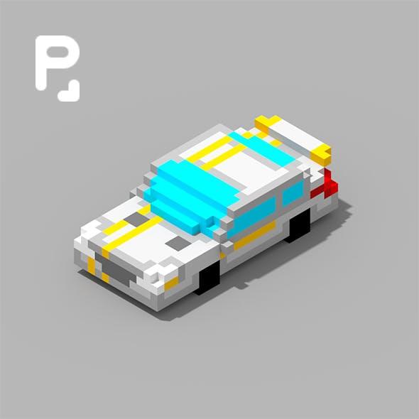 Voxel Car MersBi