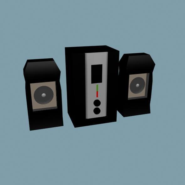 Woofer - 3DOcean Item for Sale