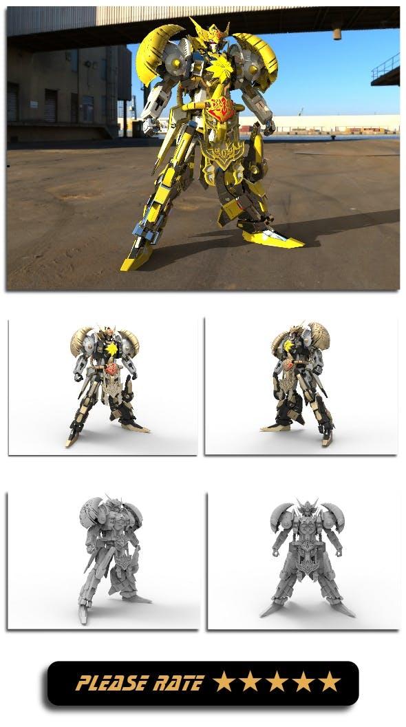 Gatotkaca - Pringgodani Knight - 3DOcean Item for Sale