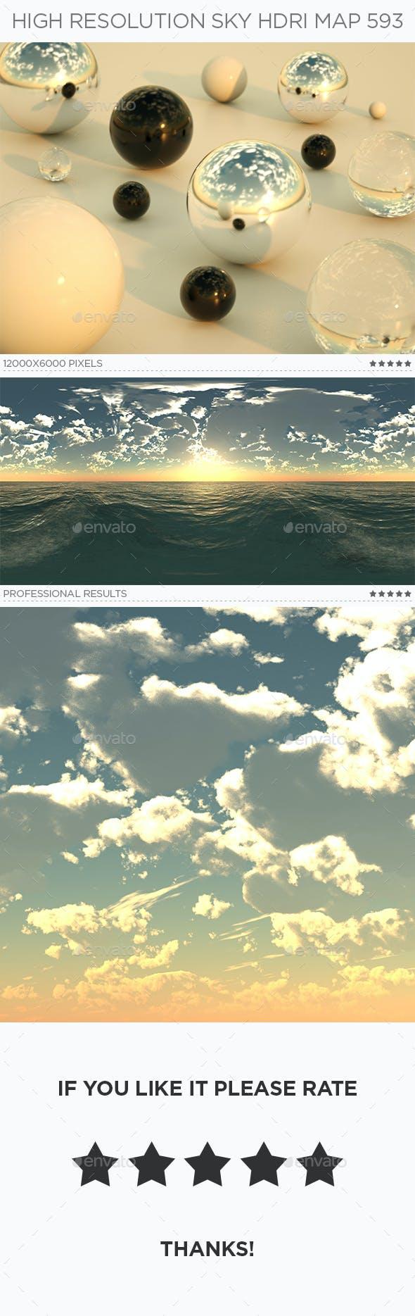 High Resolution Sky HDRi Map 593 - 3DOcean Item for Sale