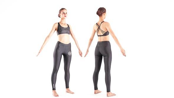 Woman sport 16 - 3DOcean Item for Sale