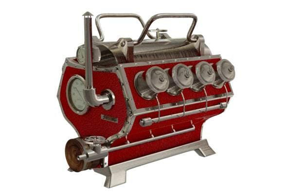 Steampunk engine - 3DOcean Item for Sale