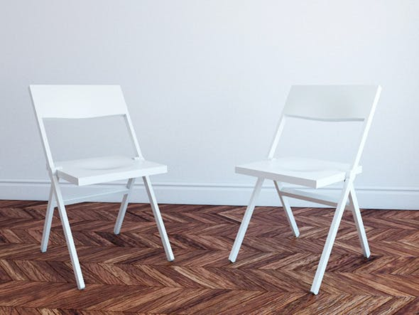 Chair Piana by David Chipperfield for Alessi - 3DOcean Item for Sale