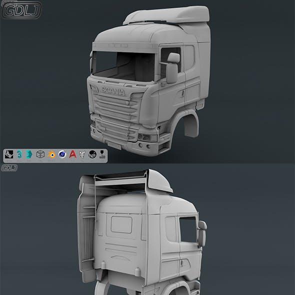 Scania R730 V8 Cabin