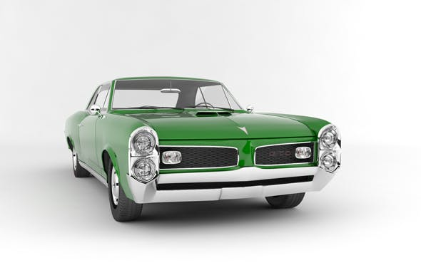 Pontiac GTO 2-Door hardtop 1966 - 3DOcean Item for Sale