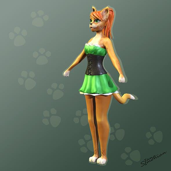 Stylized Character Kitty