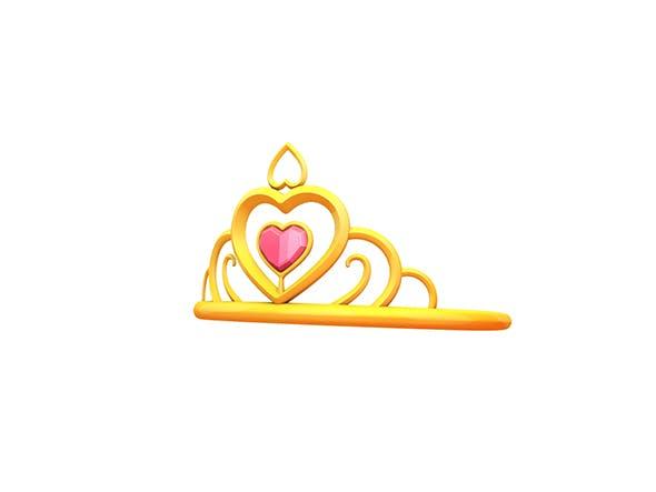 Princess Tiara - 3DOcean Item for Sale