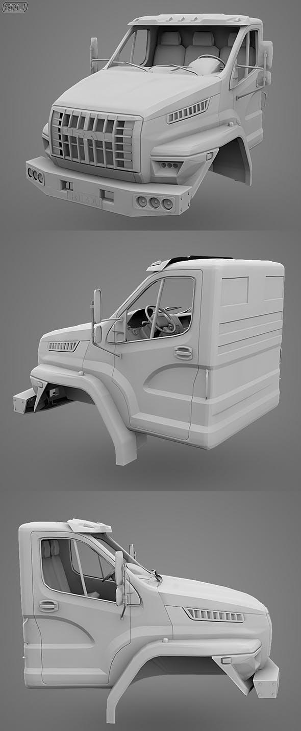 GAZ Ural Next Cabin - 3DOcean Item for Sale