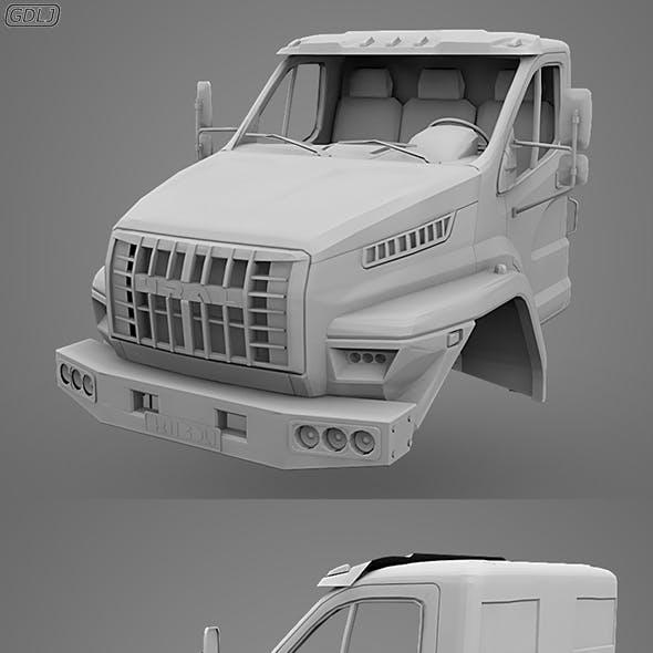 GAZ Ural Next Cabin