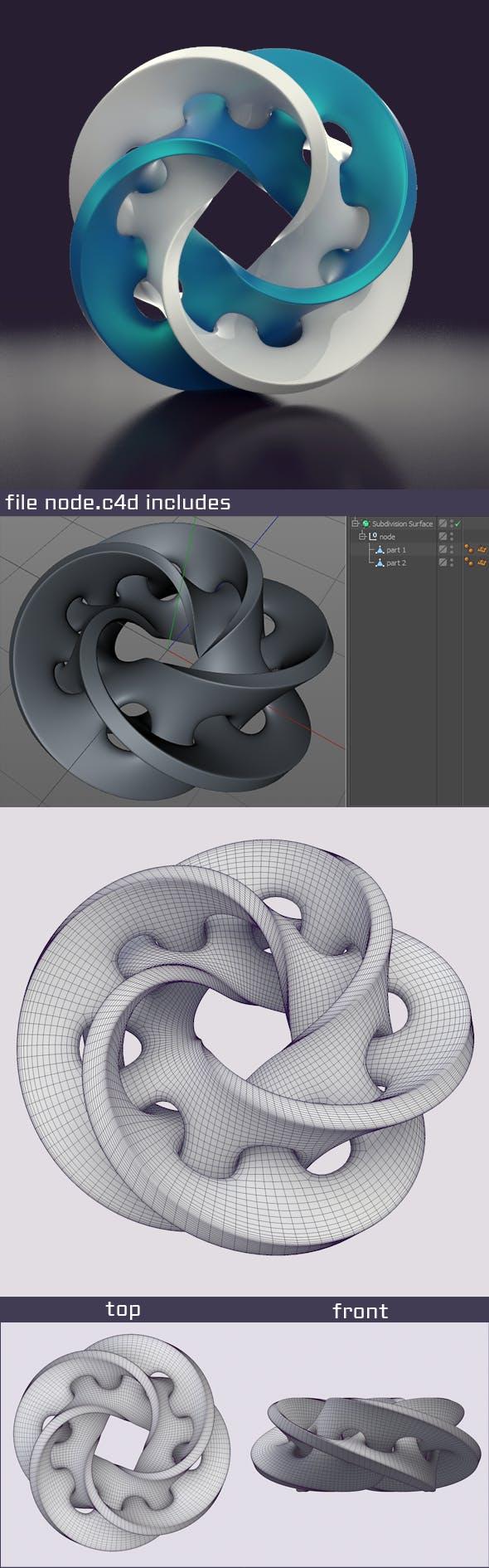 node - 3DOcean Item for Sale