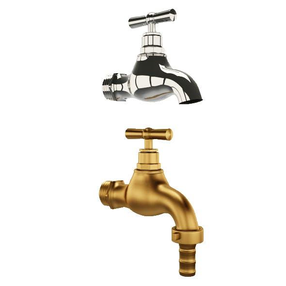 Garden faucet - 3DOcean Item for Sale
