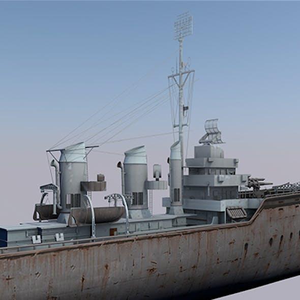 Warship HMS Staunch