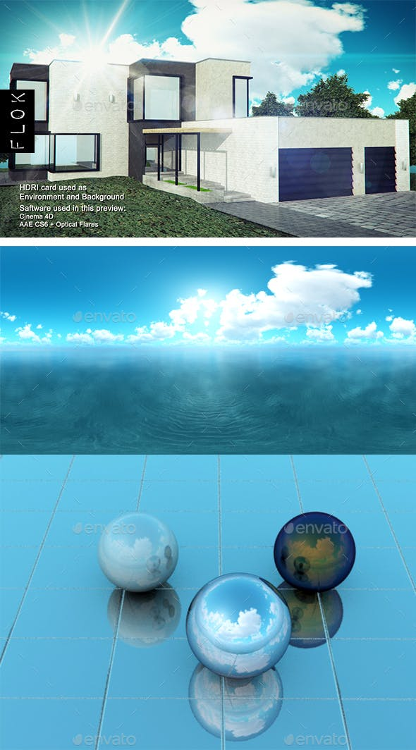 Daylight Sea 44 - 3DOcean Item for Sale