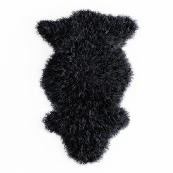 Bedside Sheepskin Rug 04 - 3DOcean Item for Sale