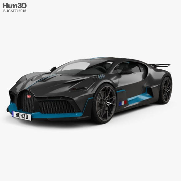 Bugatti Divo 2019 - 3DOcean Item for Sale