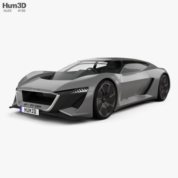 Audi PB18 e-tron 2018 - 3DOcean Item for Sale