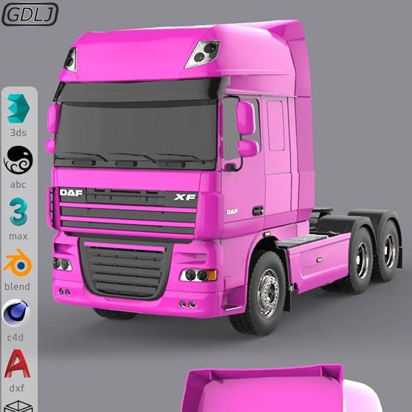 DAF XF 105 Pink