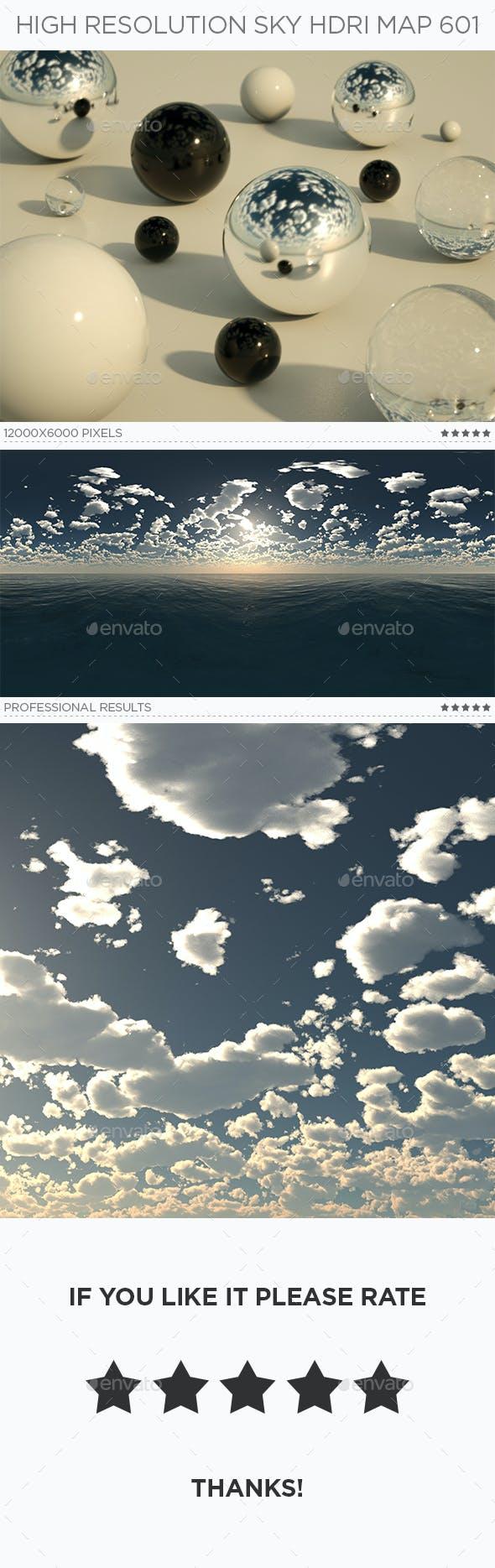 High Resolution Sky HDRi Map 601 - 3DOcean Item for Sale