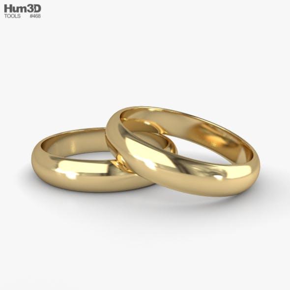 Wedding Ring - 3DOcean Item for Sale