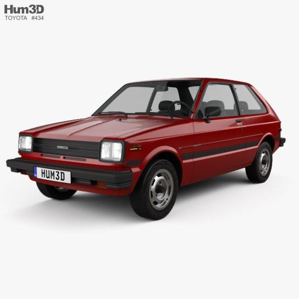 Toyota Starlet 1982 - 3DOcean Item for Sale