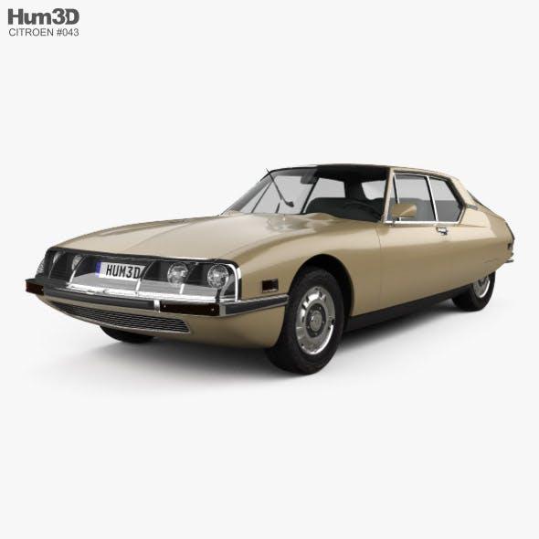 Citroen SM 1970 - 3DOcean Item for Sale