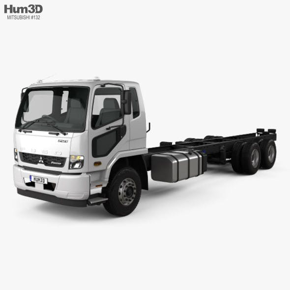 Mitsubishi Fuso Fighter (2427) Chassis Truck 2017 - 3DOcean Item for Sale