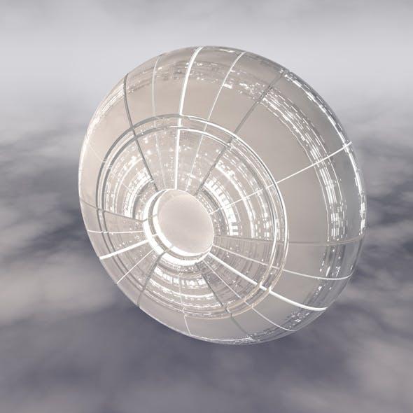 Sci-Fi Spaceship A 002