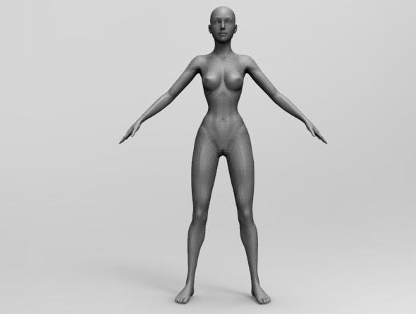 BASE Women - 3DOcean Item for Sale