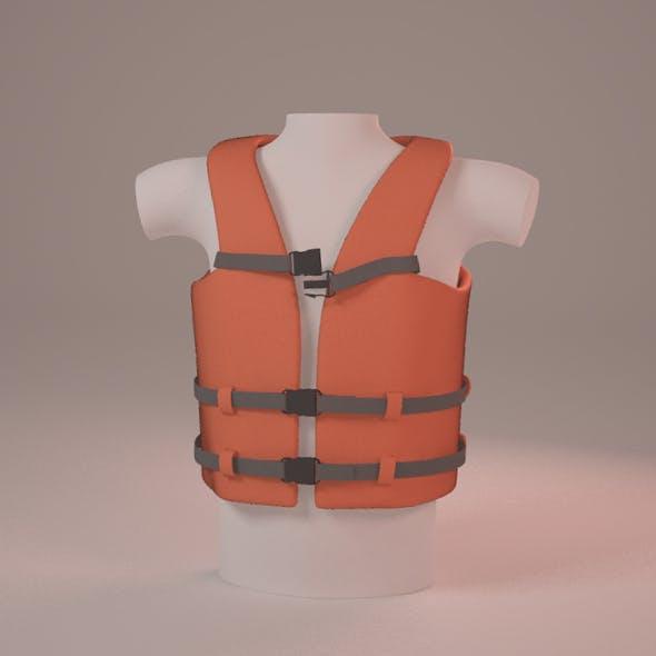 Life Vest - 3DOcean Item for Sale