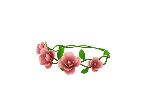 Floral Crown - 3DOcean Item for Sale