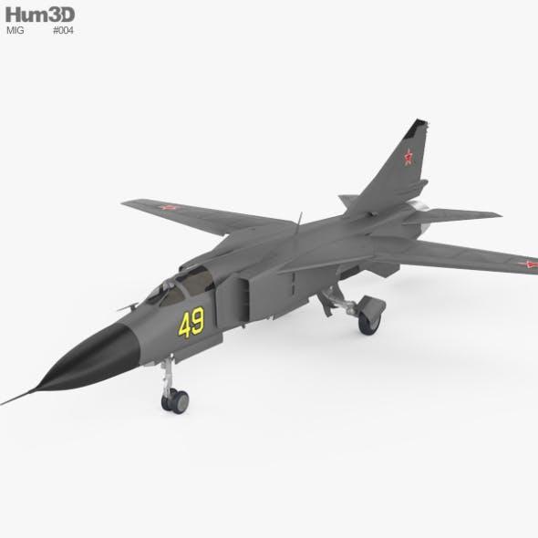 Mikoyan Gurevich MiG-23 - 3DOcean Item for Sale