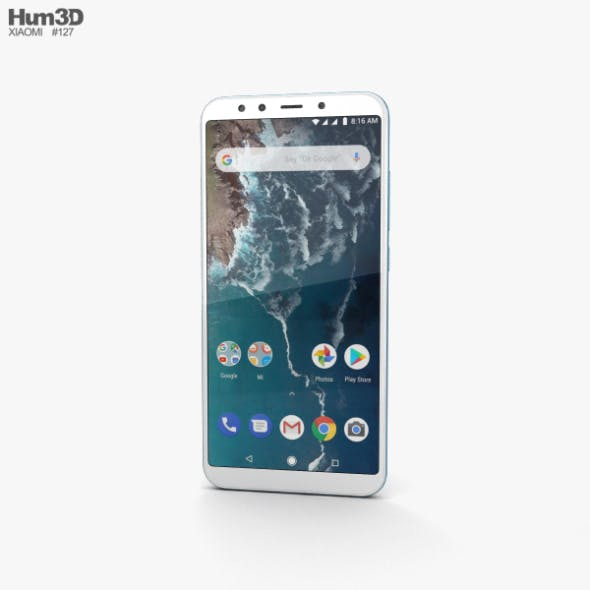 Xiaomi Mi A2 Blue - 3DOcean Item for Sale